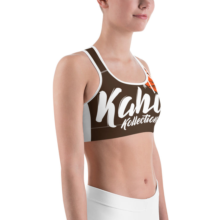 Kahoy Kollection Sunset Silhouette Sports Bra