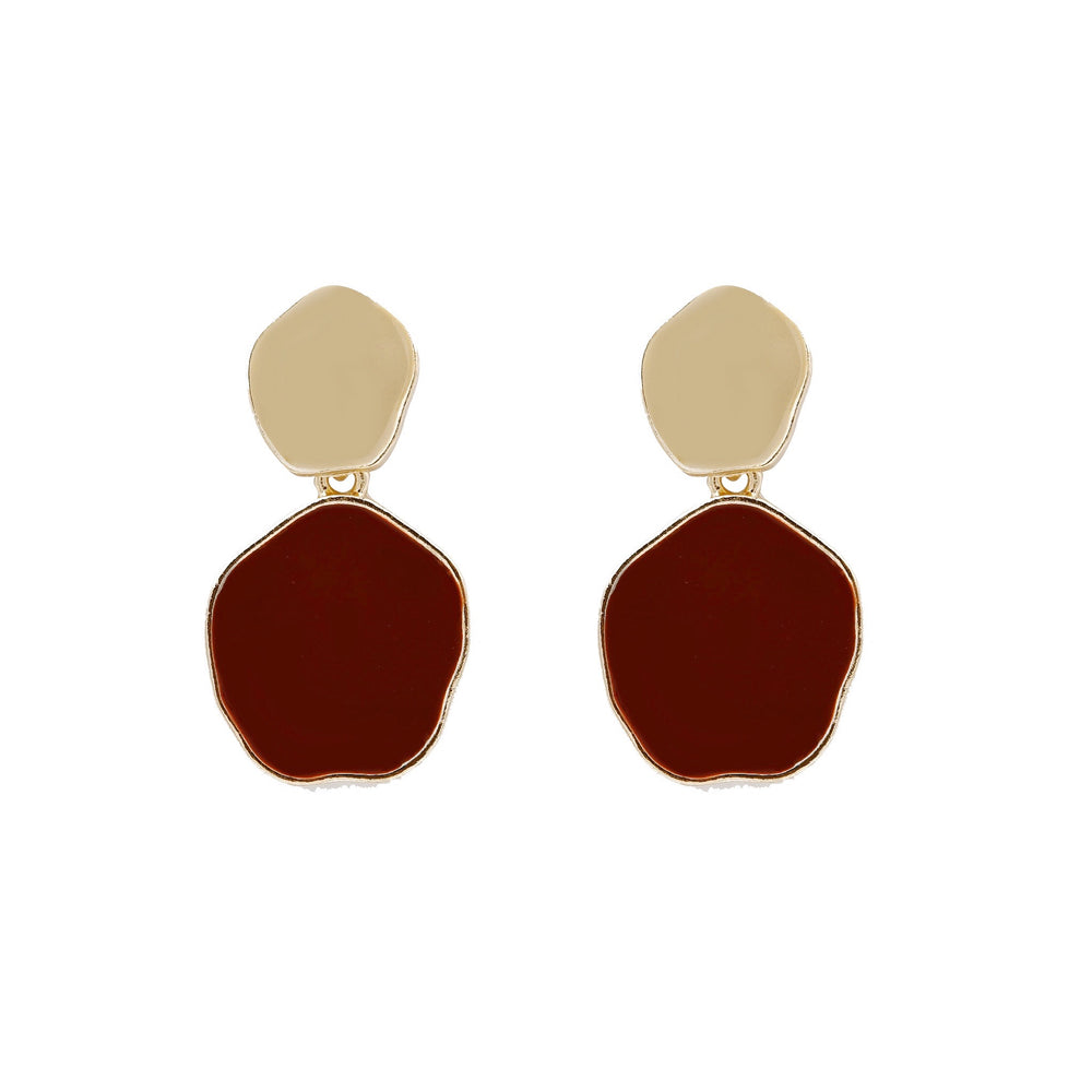 Keely Drop Earrings Red