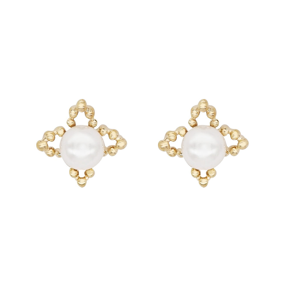 Aiko Pearl Stud Earrings