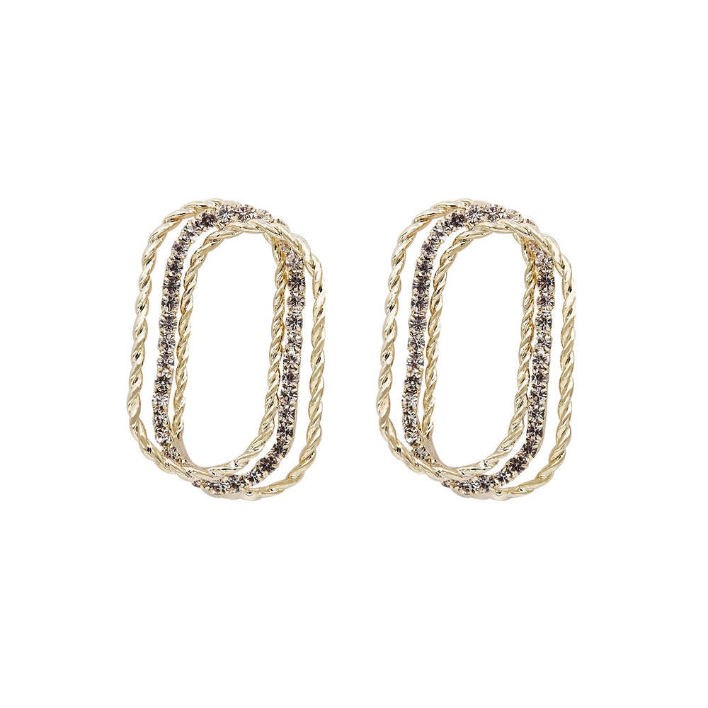 Alisa Square Earrings