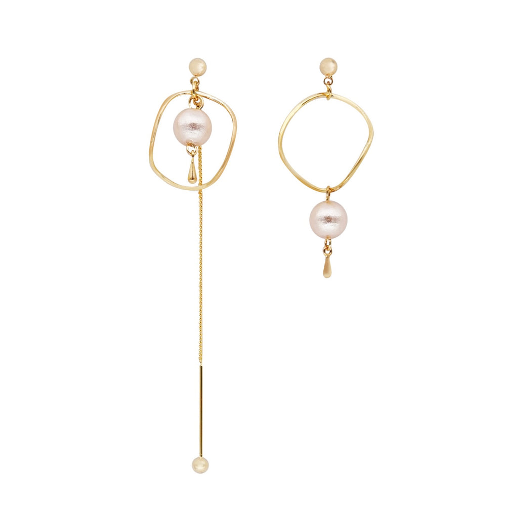 Ariana Asymmetry Drop Earrings