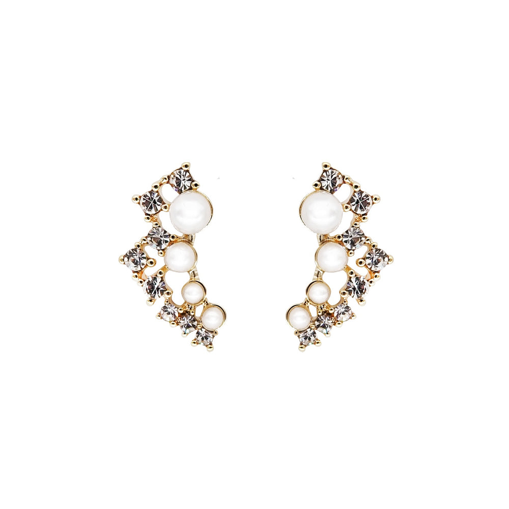 Blance Pearl Stud Earrings