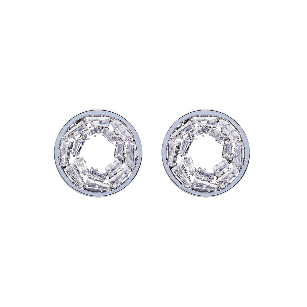 Camile Stud Earrings Silver - atto.studio