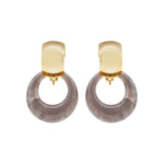 Caran Hoop Earrings (2 colours)