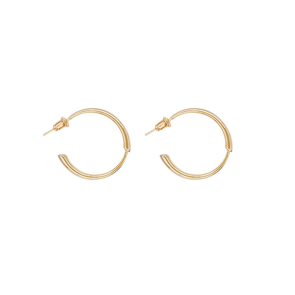 Cleo Gold-plated Hoops