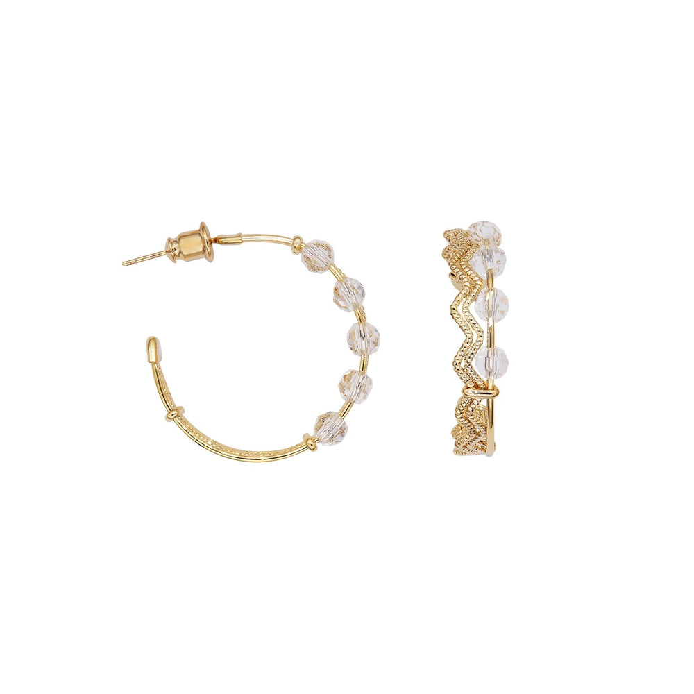 Cynthia Hoop Earrings