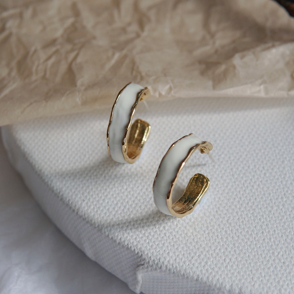 Zora Hoop Earrings (BACK IN STOCK) - atto.studio