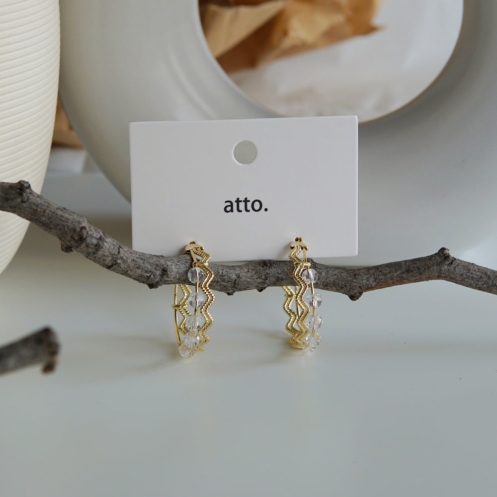 Cynthia Hoop Earrings (BACK IN STOCK) - atto.studio