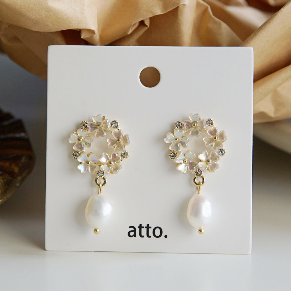 Jacqueline Freshwater Pearl Earrings (BACK IN STOCK) - atto.studio