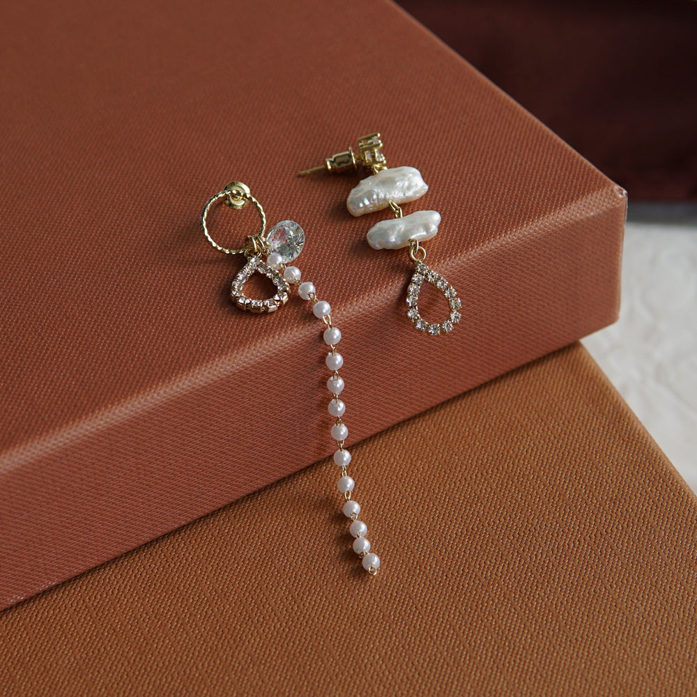 Franca Freshwater Pearl Earrings - atto.studio