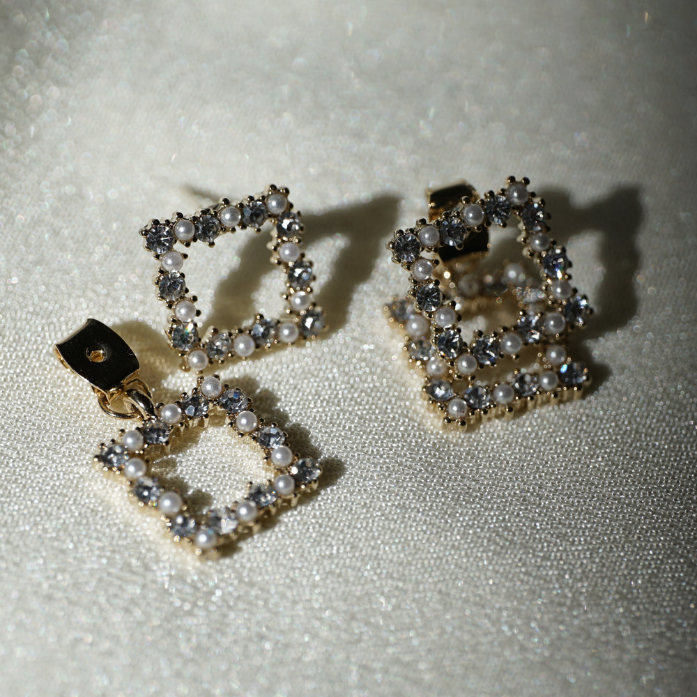 Callie Front Back Earrings - atto.studio