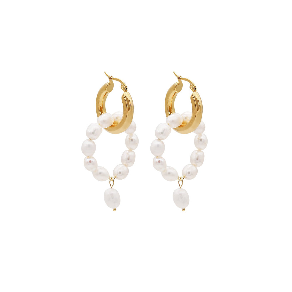 Cassia Two-way Earrings - atto.studio