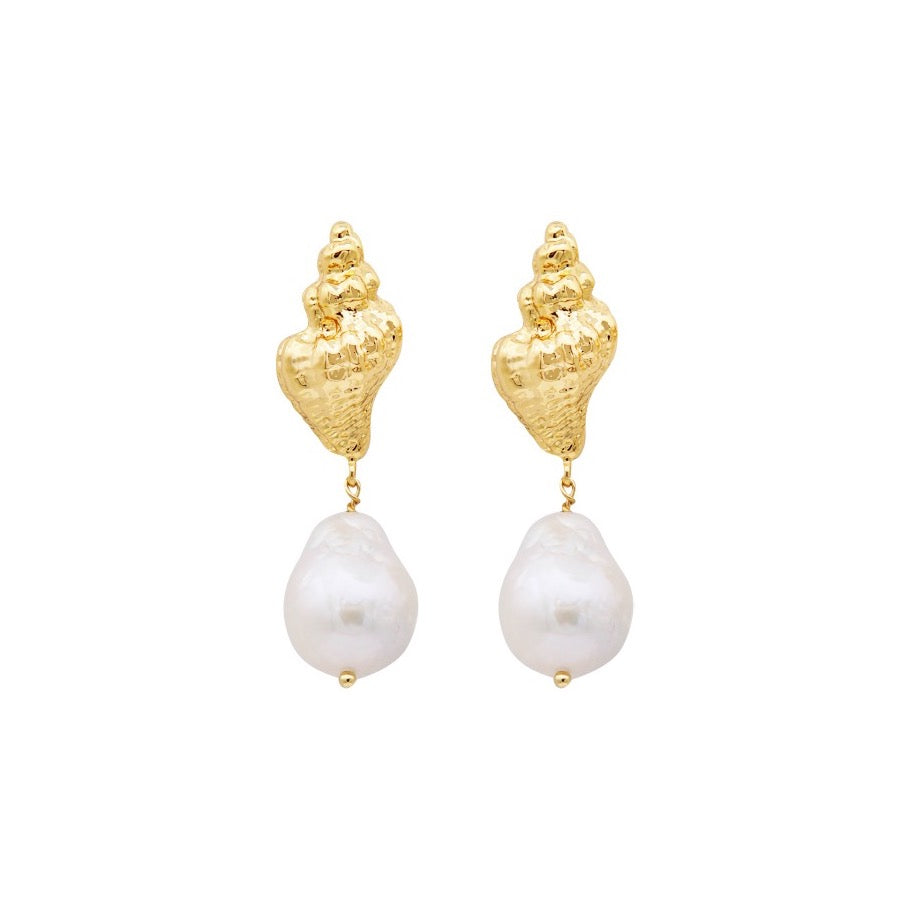Mona Freshwater Pearl Earrings