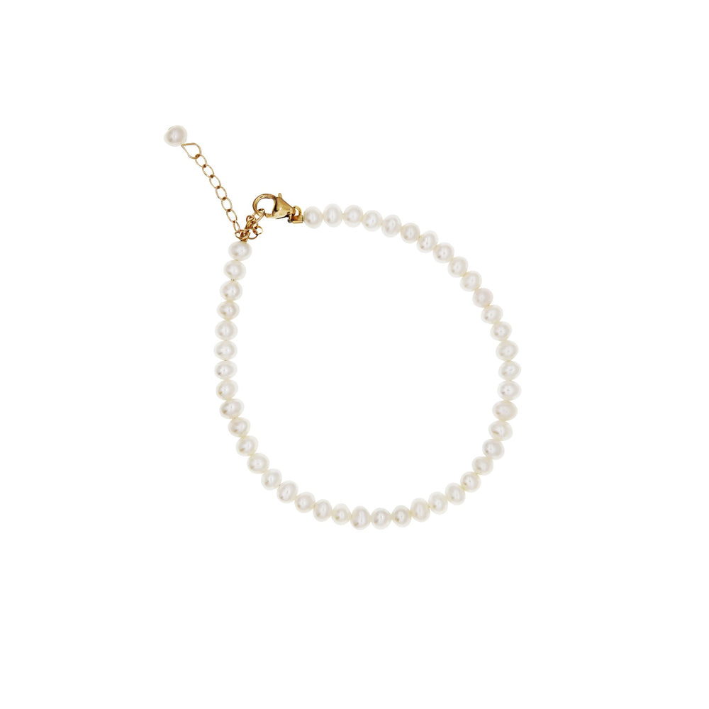 Carly Gold-filled Freshwater Pearl Bracelet - atto.studio