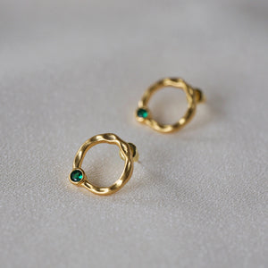 Load image into Gallery viewer, Freya Stud Earrings - atto.studio