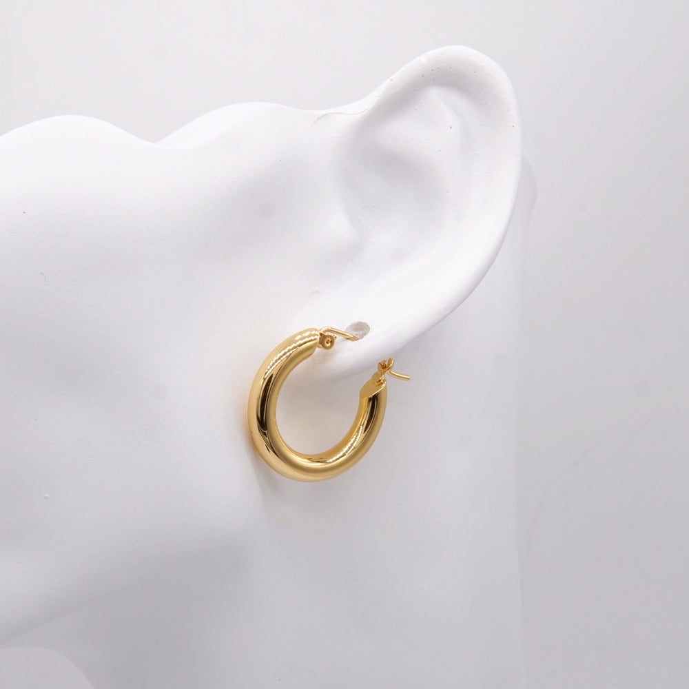 Sofia 18K Gold-plated Hoops (BACK IN STOCK)