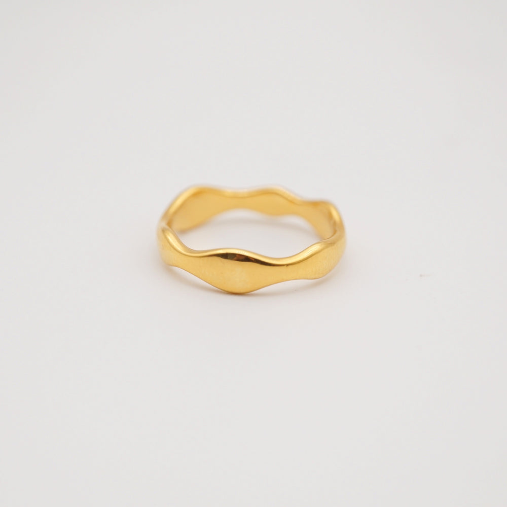 Océane 18K Gold-plated Ring