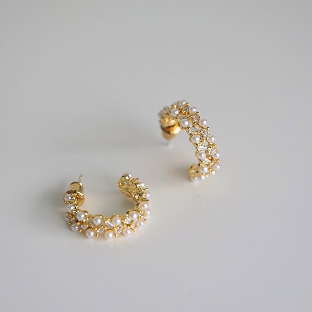 Kira Gold-plated Hoops