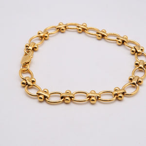 Load image into Gallery viewer, Lennon 18K Gold-plated Bracelet