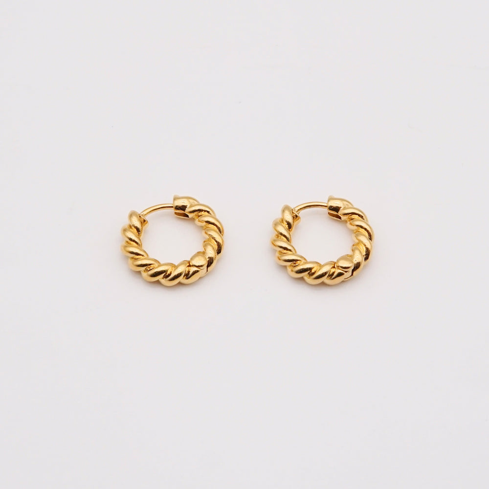 Leona Huggie Hoop Earrings (BACK IN STOCK)