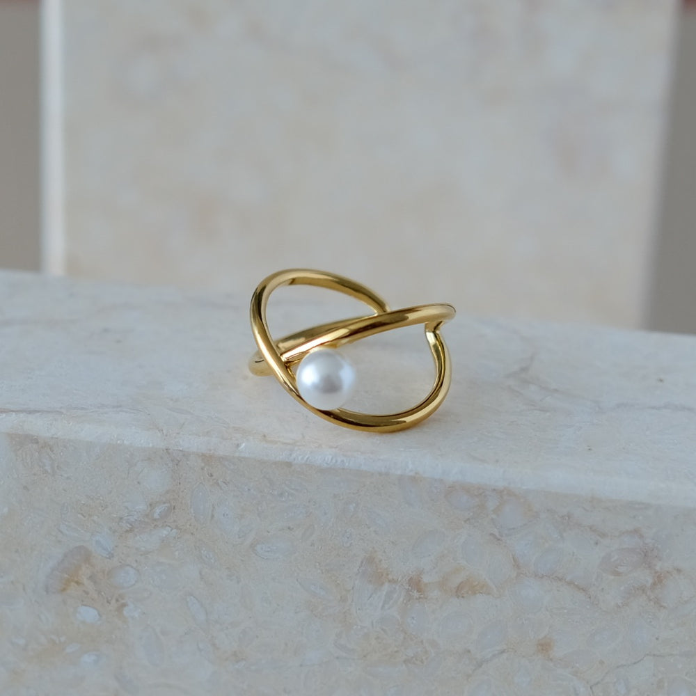 Josie 18K Gold-plated Ring