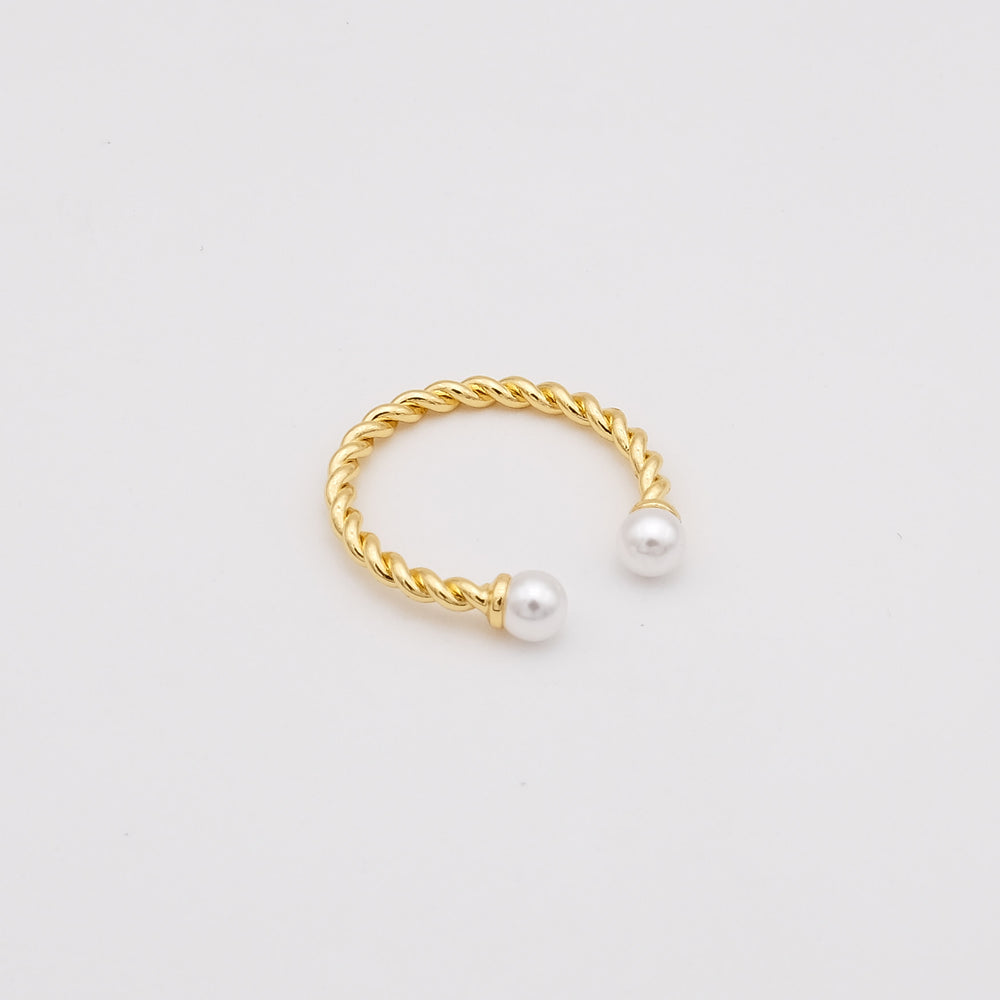 Seneca Pearly Adjustable Ring