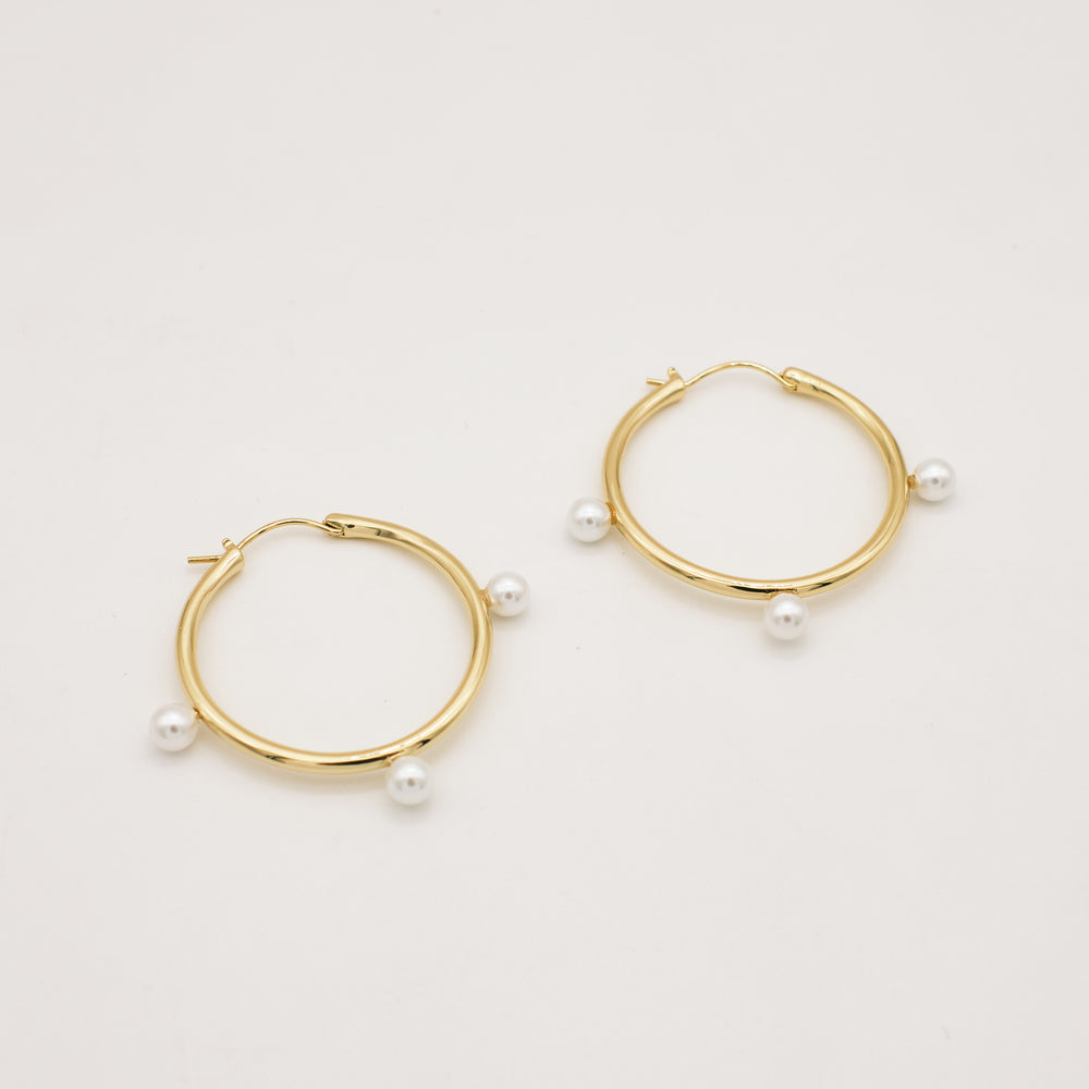 Rhoda Pearly Hoops