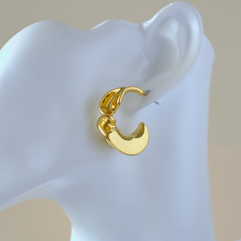 Willow Earrings 18K Gold-plated