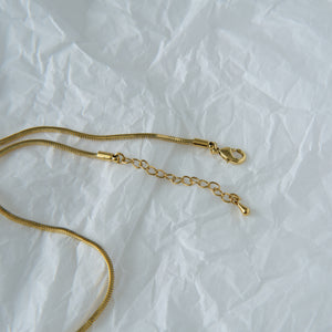 Layla Necklace 18K Gold-plated