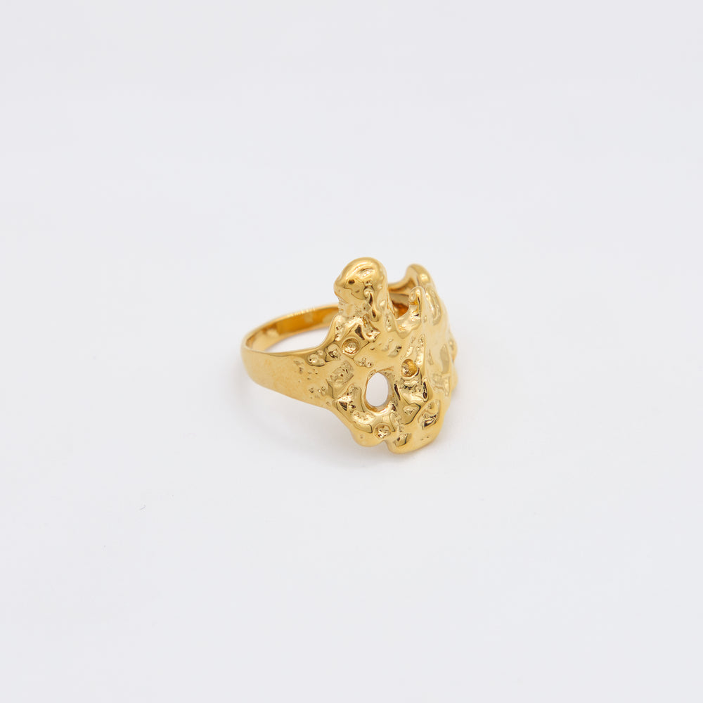 Margo Adjustable Ring 18K Gold-plated