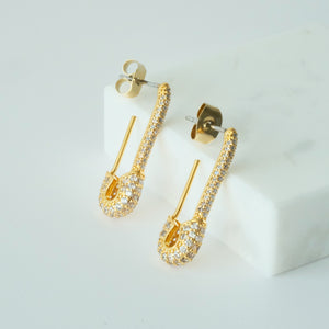 Helene 18K Gold-plated Earrings