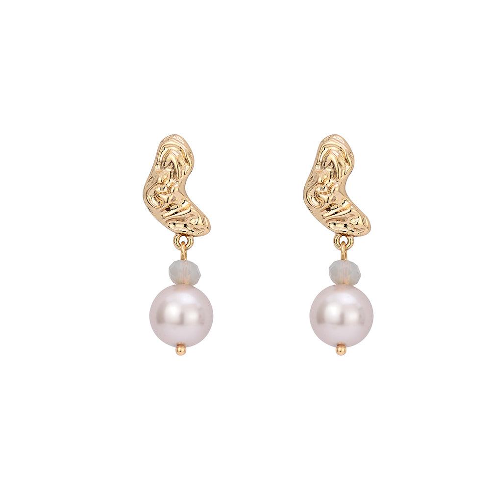 Pittas Pearl Earrings - atto.studio
