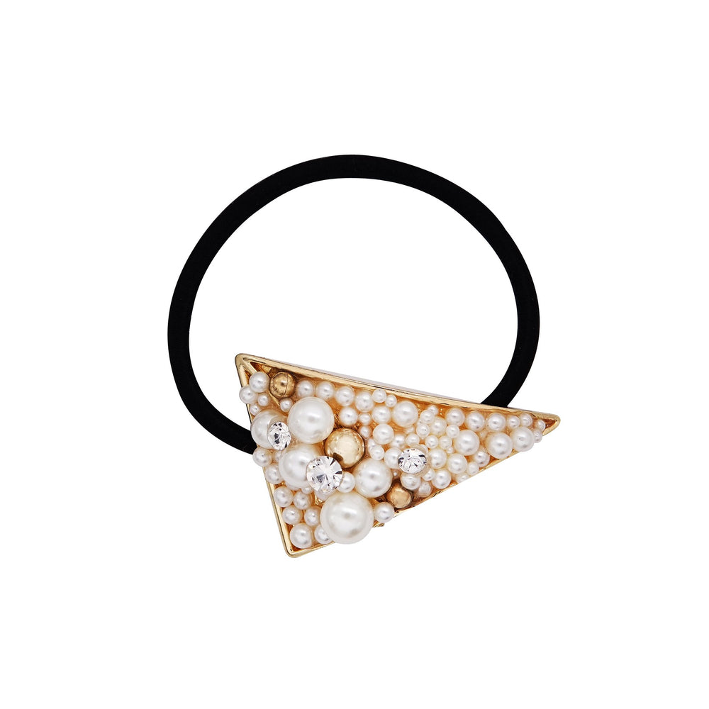 Darcey Pearl Hair Tie Triangle