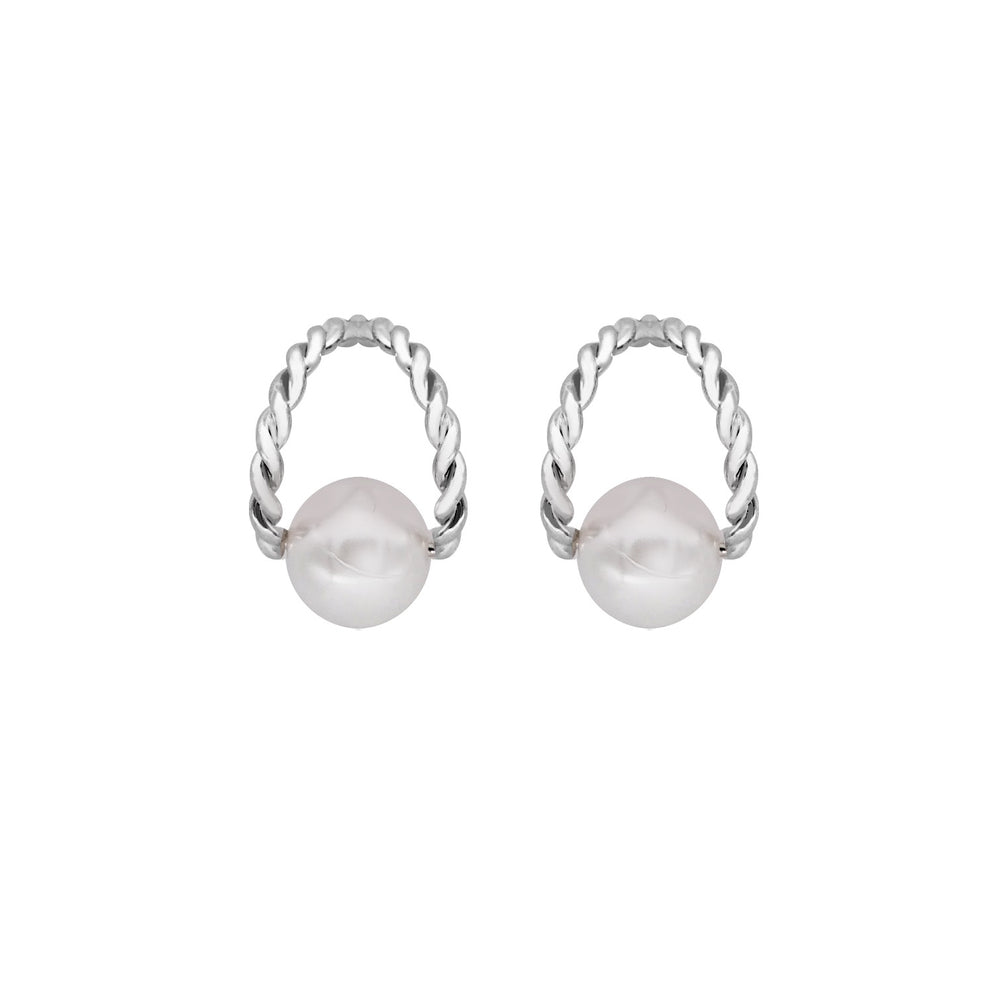 Julianne Stud Earrings SILVER