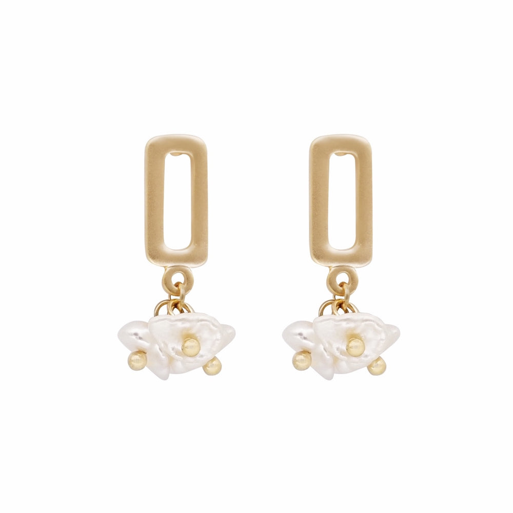 Gemma Freshwater Pearls Earrings
