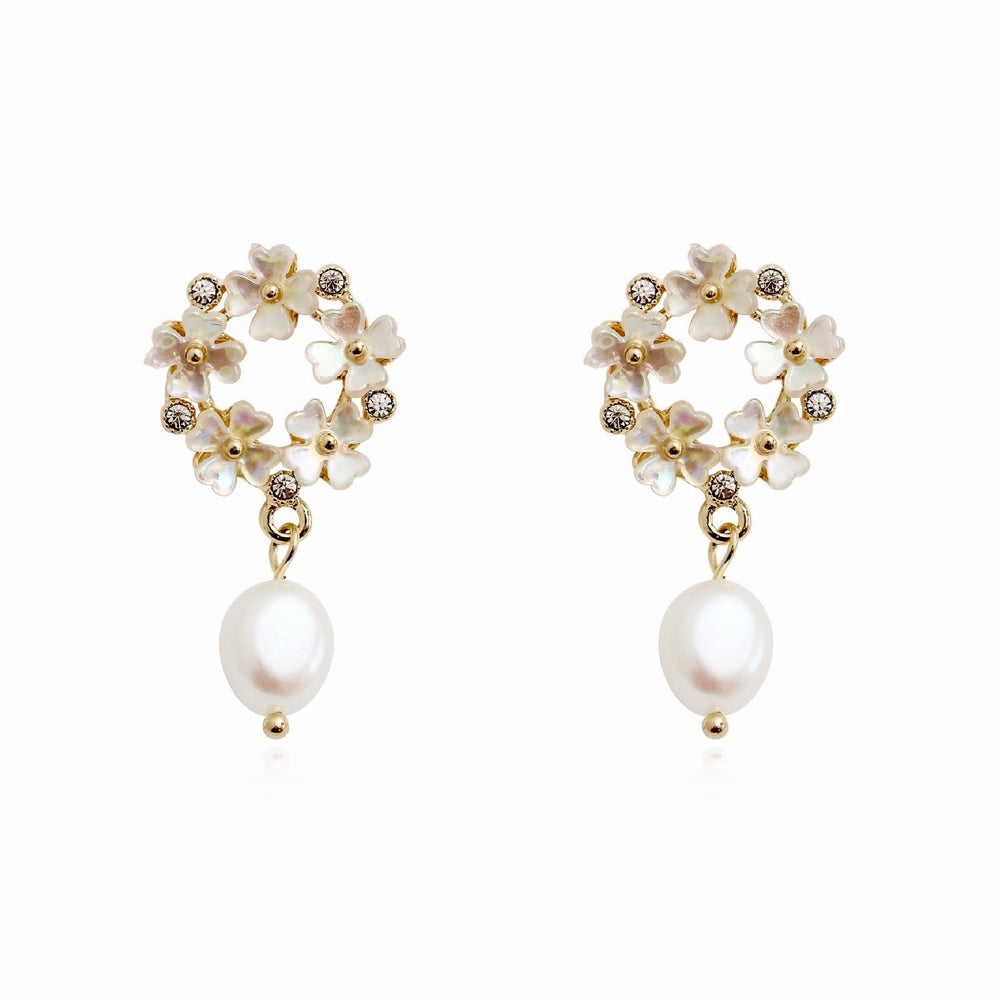 Jacqueline Freshwater Pearl Earrings