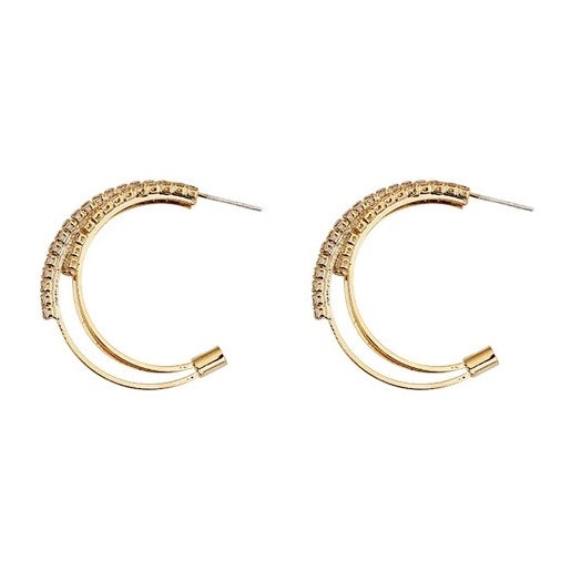 Dominique Hoop Earrings - atto.studio