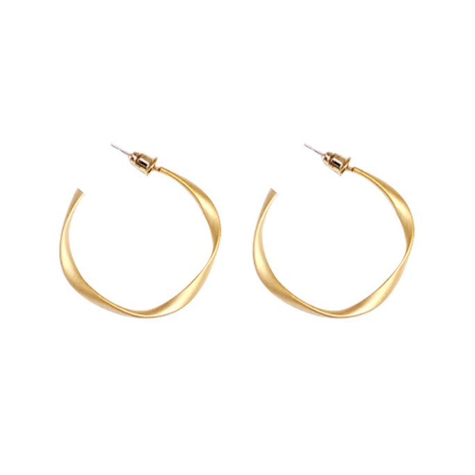 Celia Twist Hoop Earrings (BACK IN STOCK)