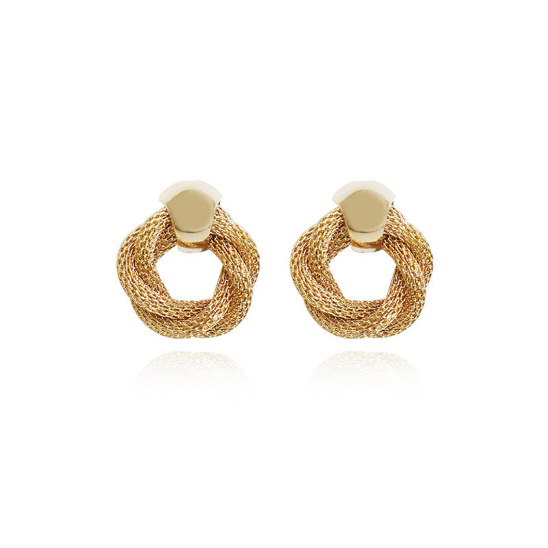 Finola Gold Plated Earrings - atto.studio