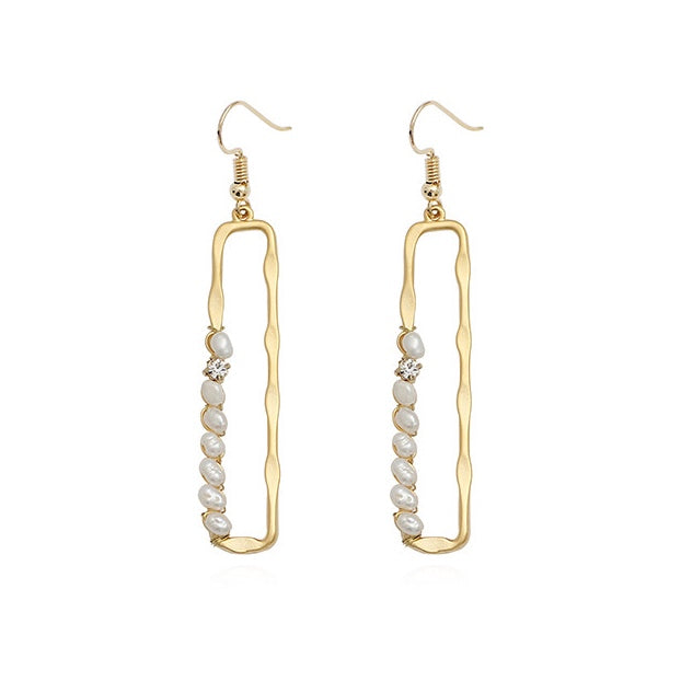 Ciel Freshwater Pearl Drop Earrings