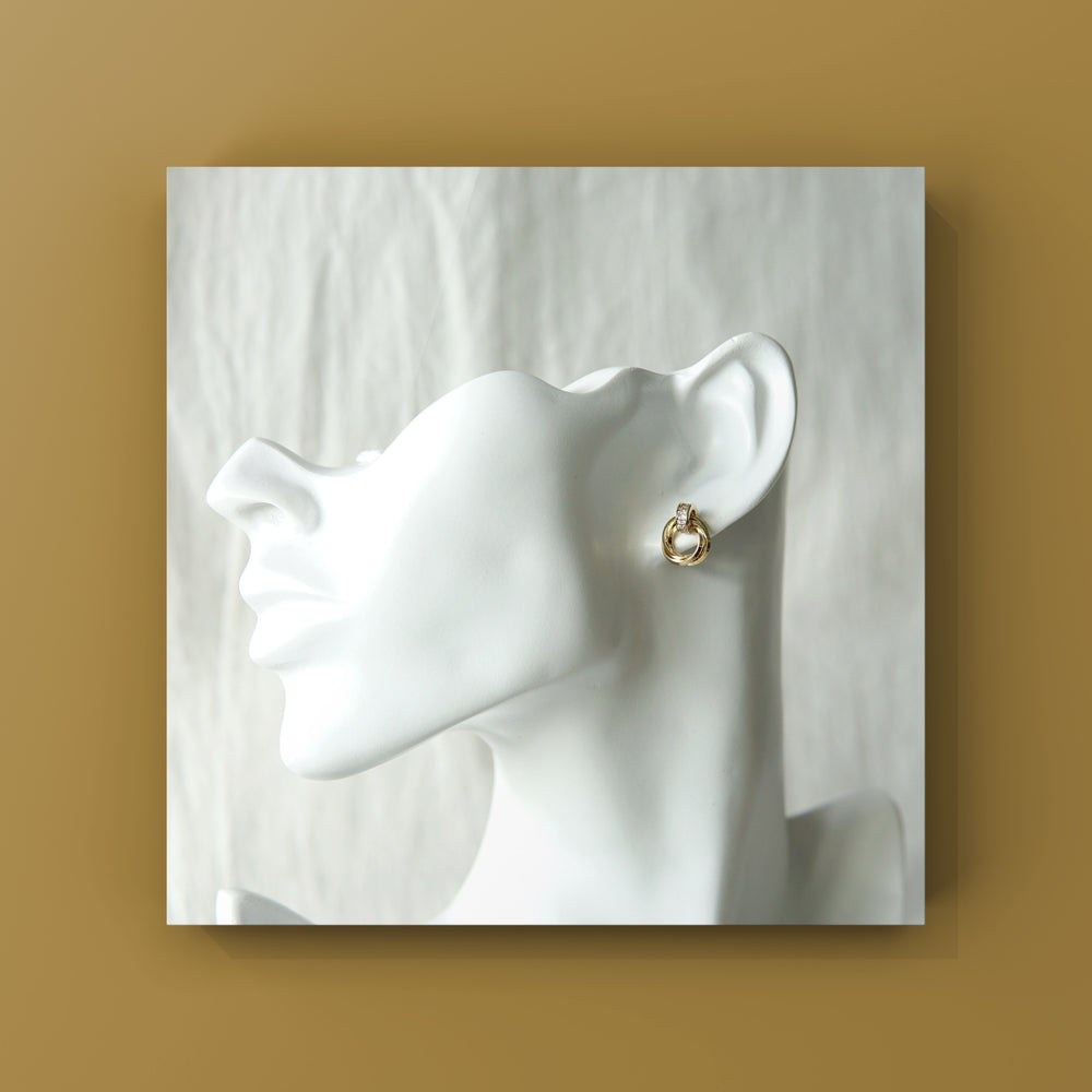 Load image into Gallery viewer, Giselle Stud Earrings