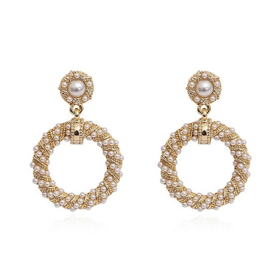 Colette Pearl Drop Earrings