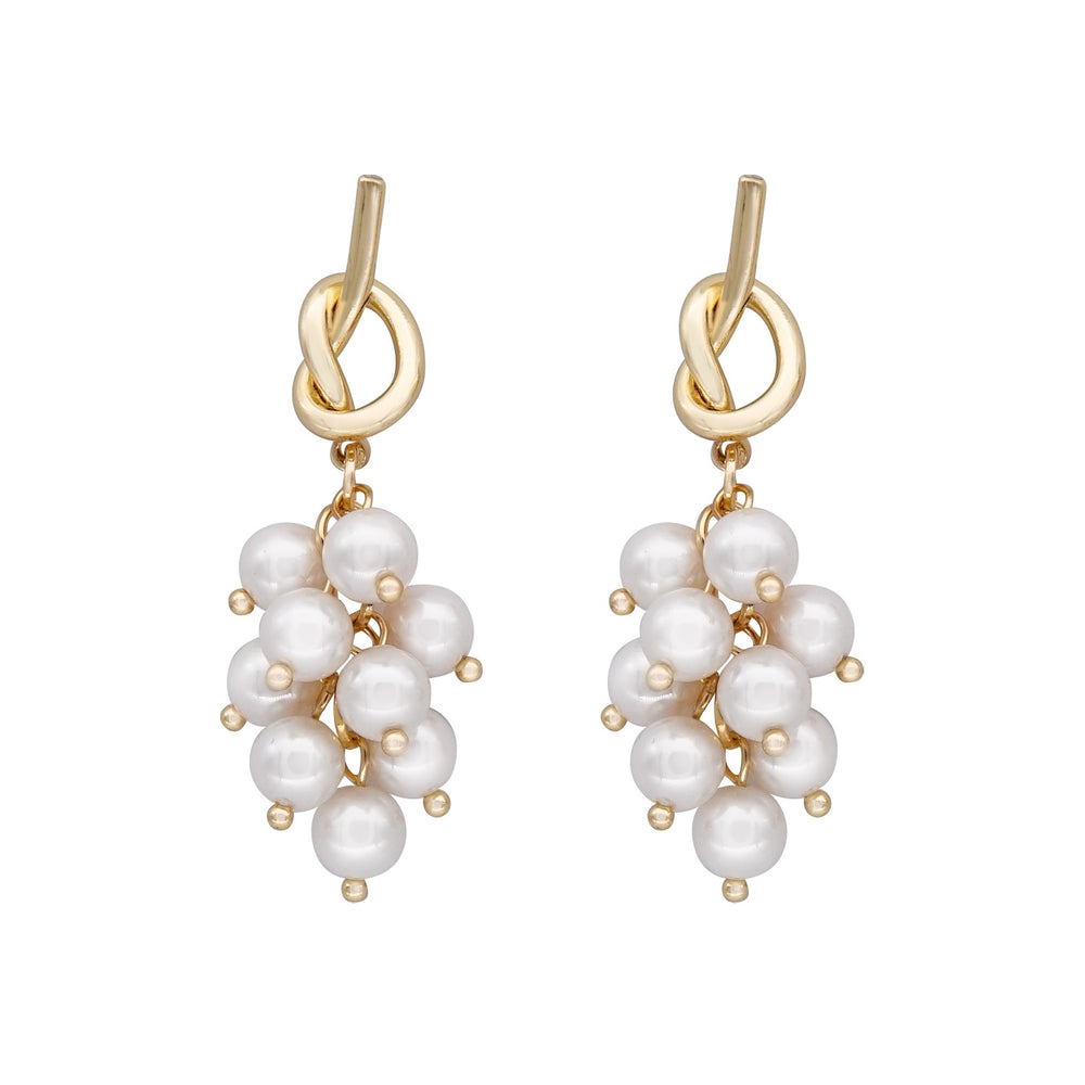 Norma Pearl Drop Earrings