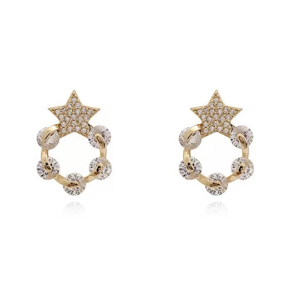 Sayen Star Earrings