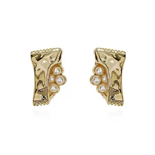 Serena Pearl Stud Earrings