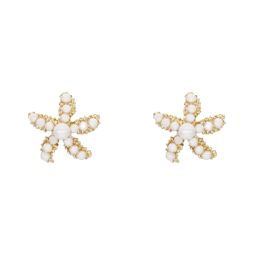 Starfish Stud Earrings
