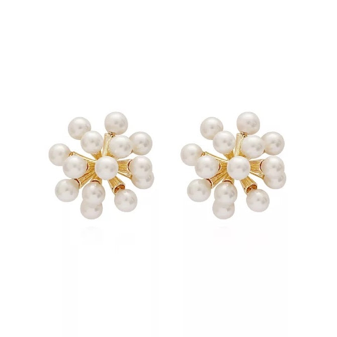 Yoko Pearl Stud Earrings (BACK IN STOCK)