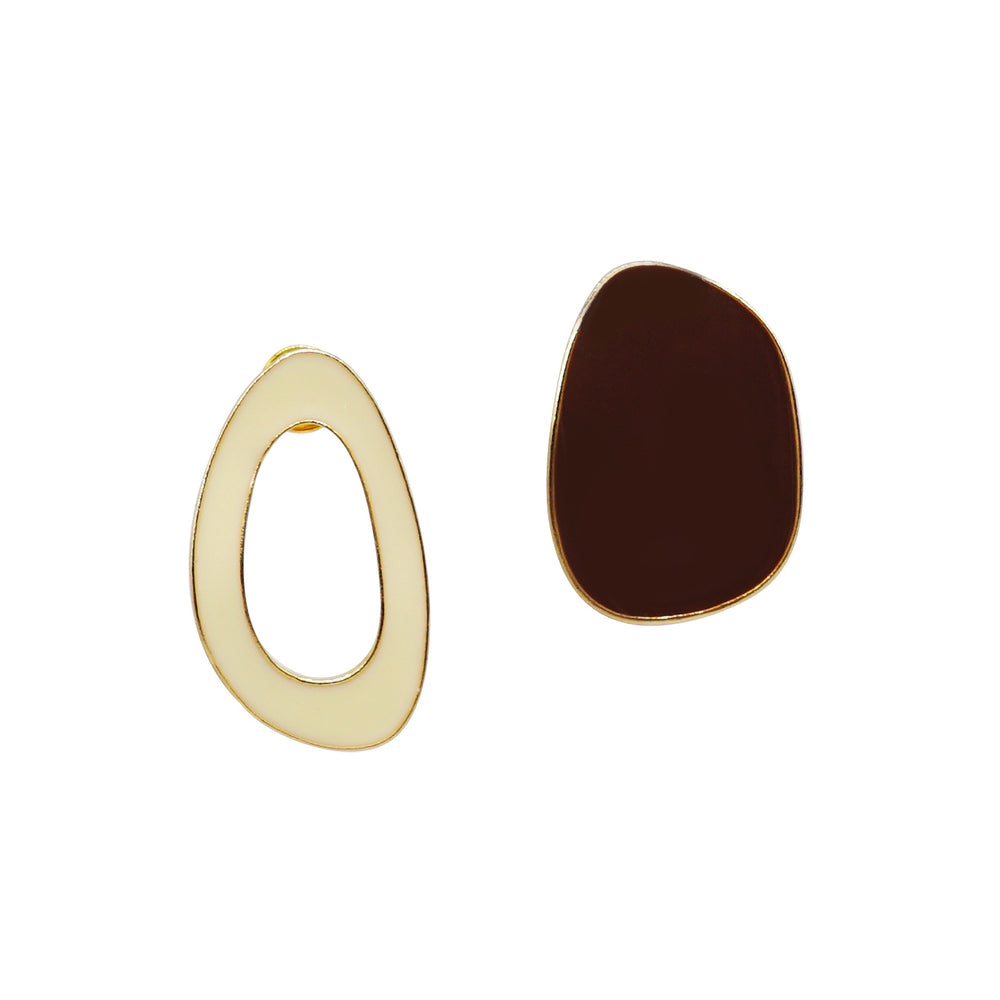 Yolin Mismatch Stud Earrings - atto.studio