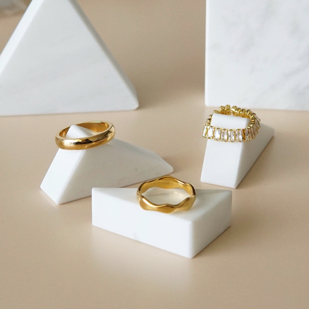 Frances 18K Gold-plated Ring