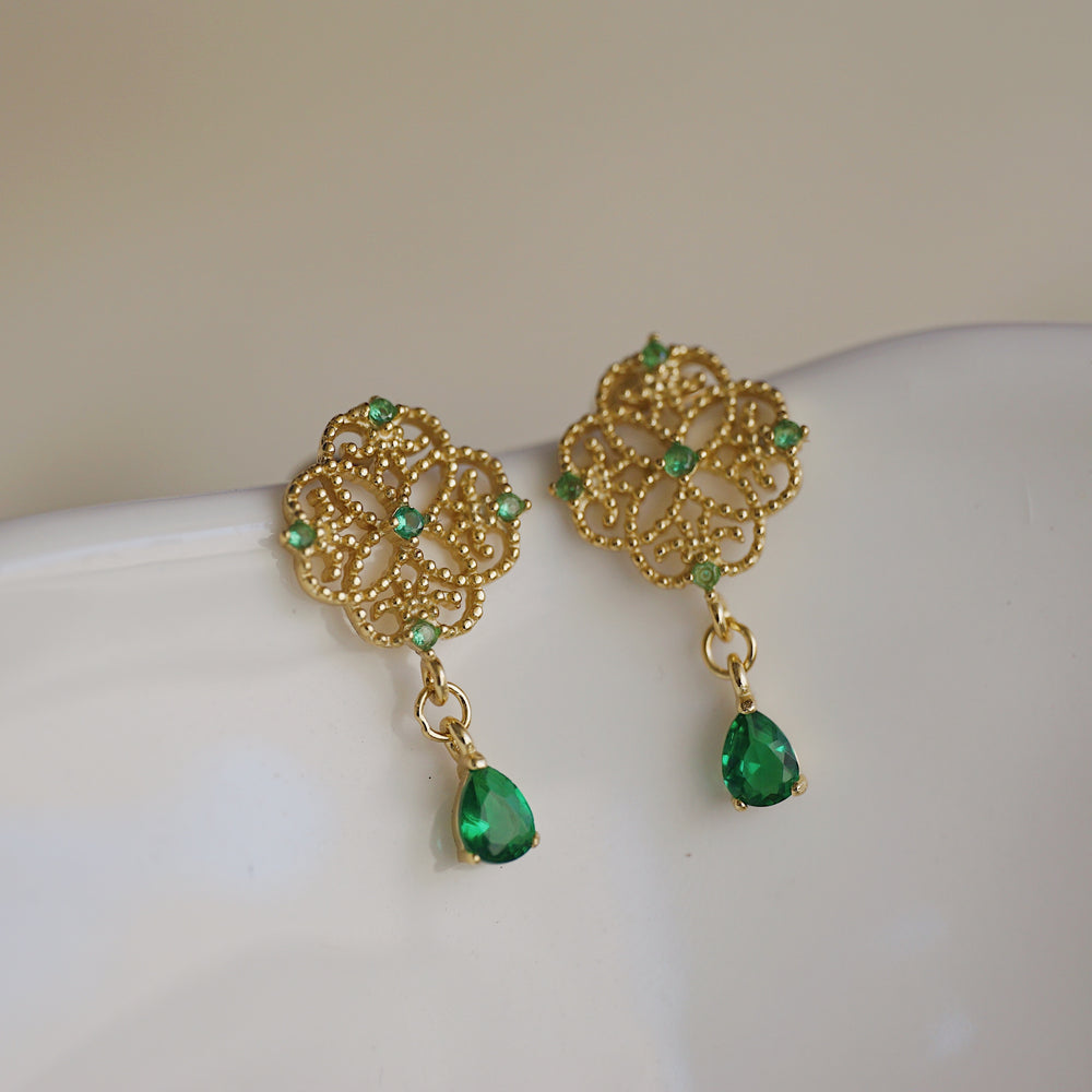 Aieta Gold Vermeil Earrings - atto.studio